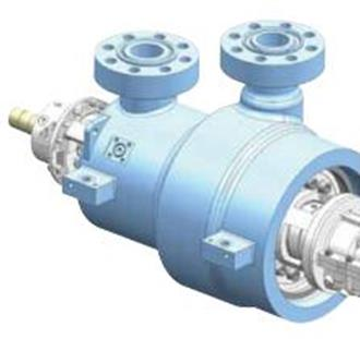 High-pressure diffuser barrel multistage pump DDHM